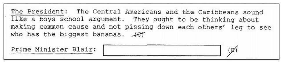 Extract from transcripts
