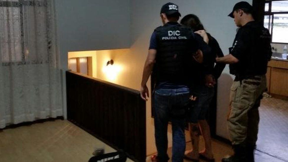 Woman arrested as part of major anti-paedophilia in Brazil