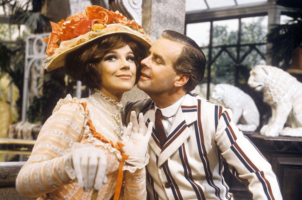 Fenella Fielding and Ian Carmichael