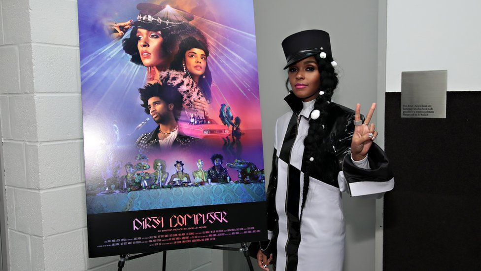 Janelle Monae promoting Dirty Computer