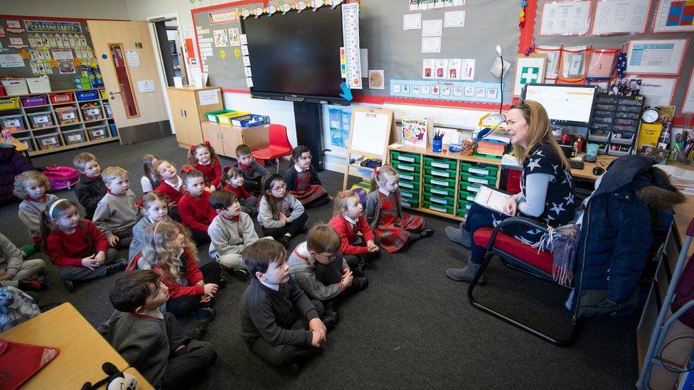 School pupils in Inverkip