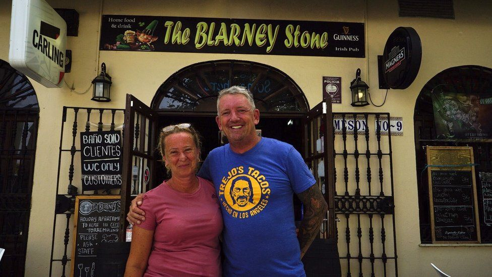 On some days Gary Mercer and his wife have seen no visitors at all
