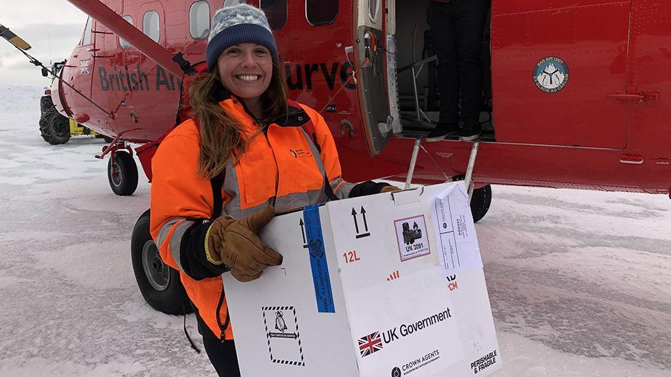 BAS winter doctor, Klara Weaver