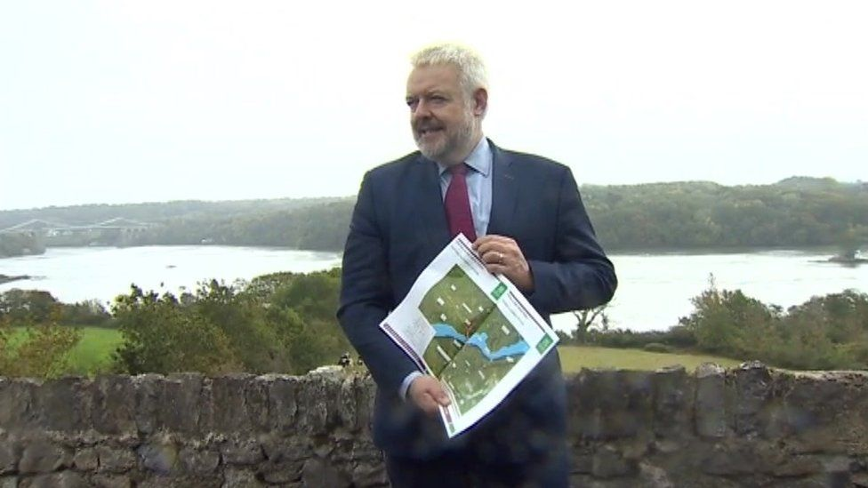 First Minister Carwyn Jones made the announcement on a visit to Anglesey