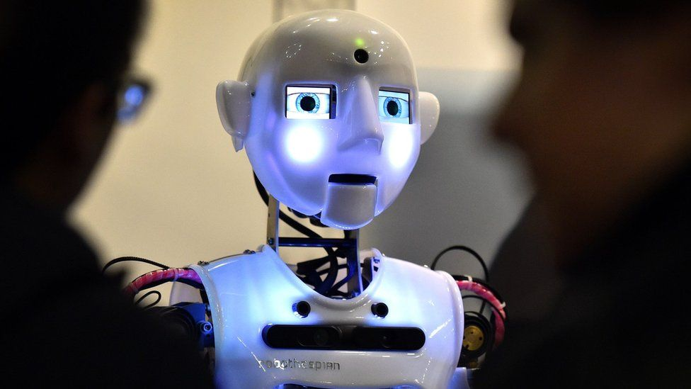 A robot built by a British company