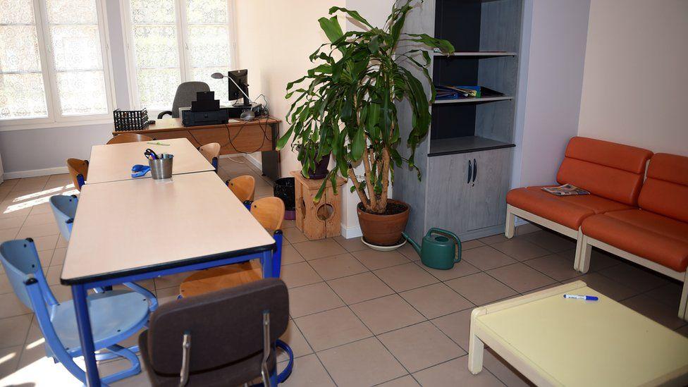 Classroom at Pontourny