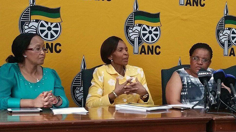 Members of ANC Women's League