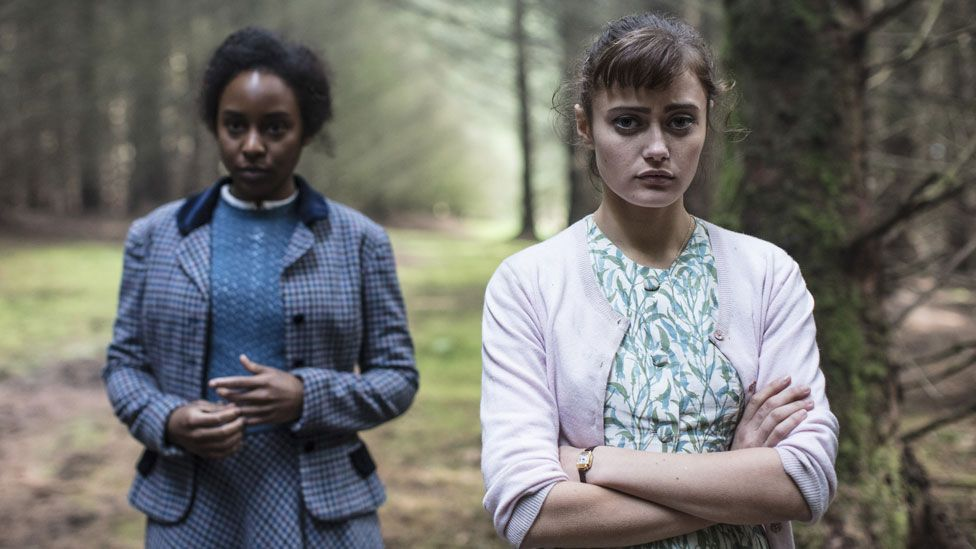 Tina and Hester in Ordeal by Innocence