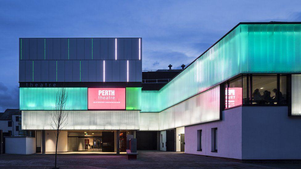 Perth Theatre (£11.38m) - Richard Murphy Architects Ltd for Horsecross Arts Ltd