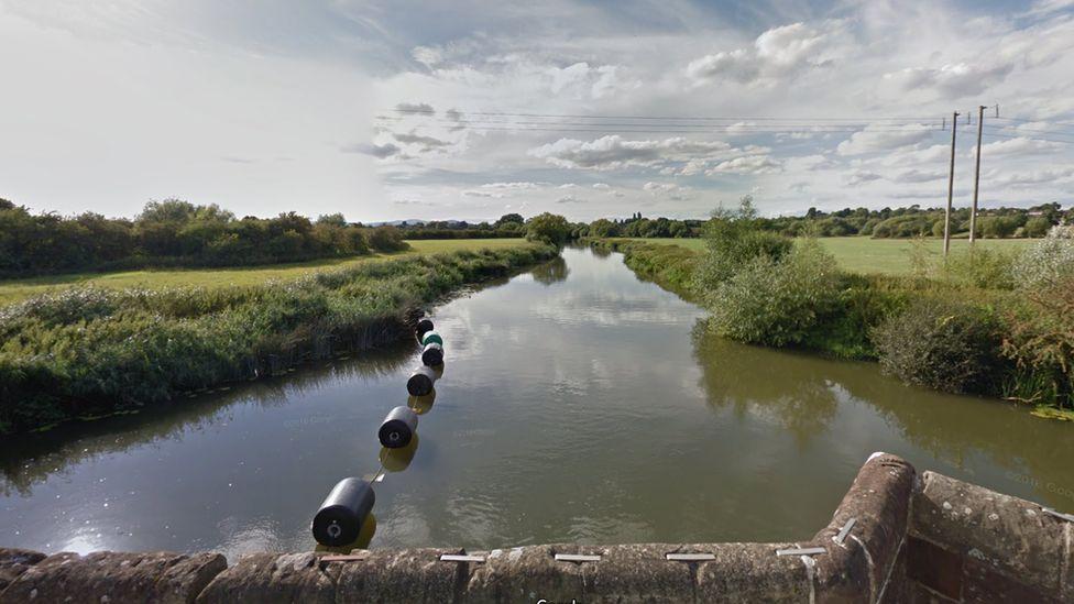 River Avon near Eckington