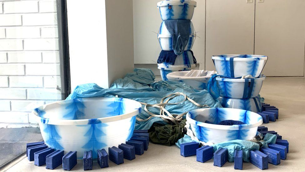 An art installation by Alberta Whittle