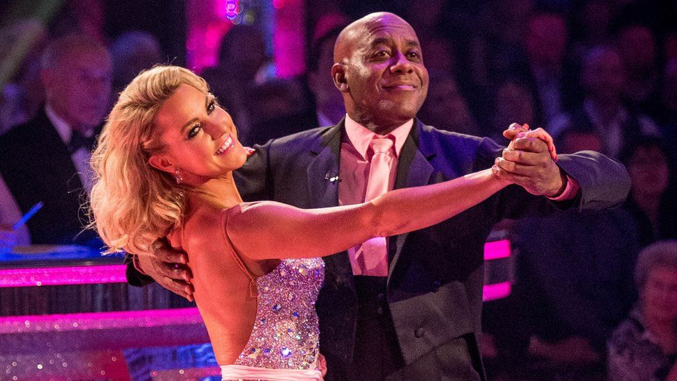 Ainsley Harriott on Strictly Come Dancing