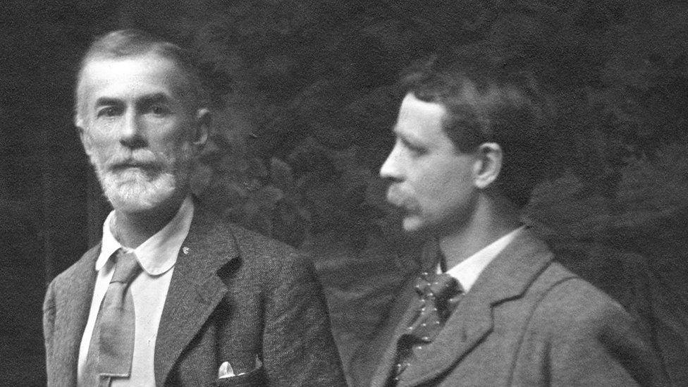 Edward Carpenter and George Merrill