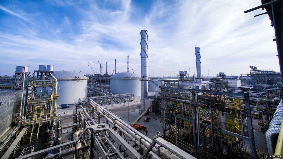 An Aramco gas terminal