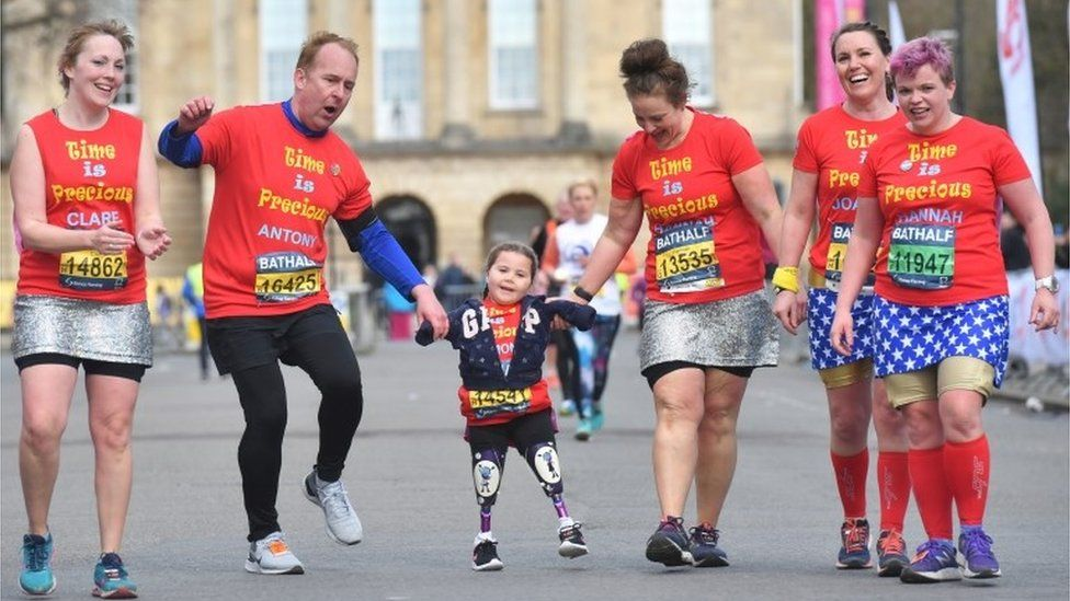Harmonie-Rose gets close to crossing the finish line