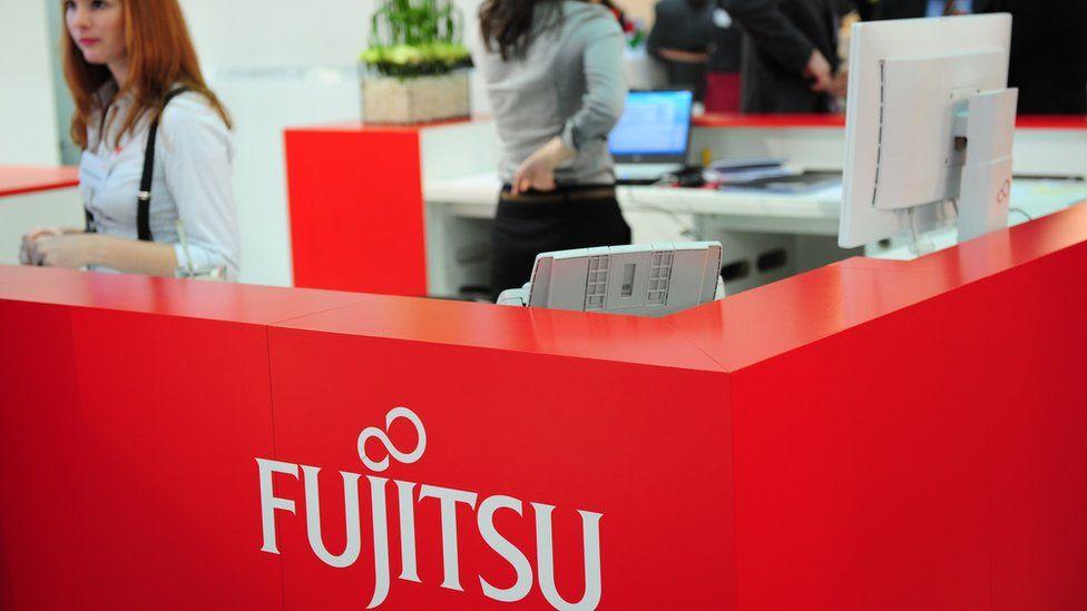 Fujitsu stand