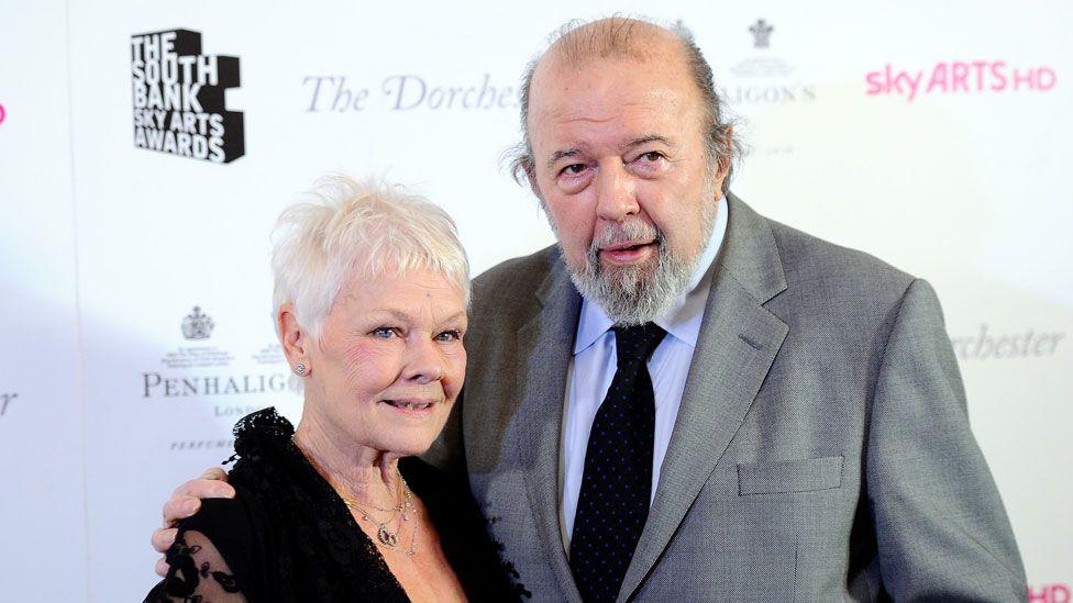 Dame Judi Dench and Sir Peter Hall