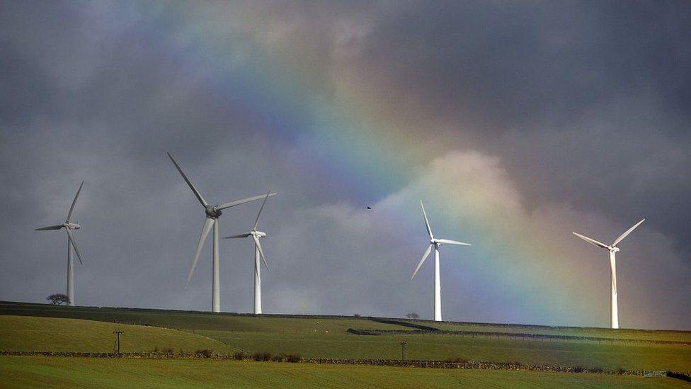Windfarm in Wortley, near Sheffield