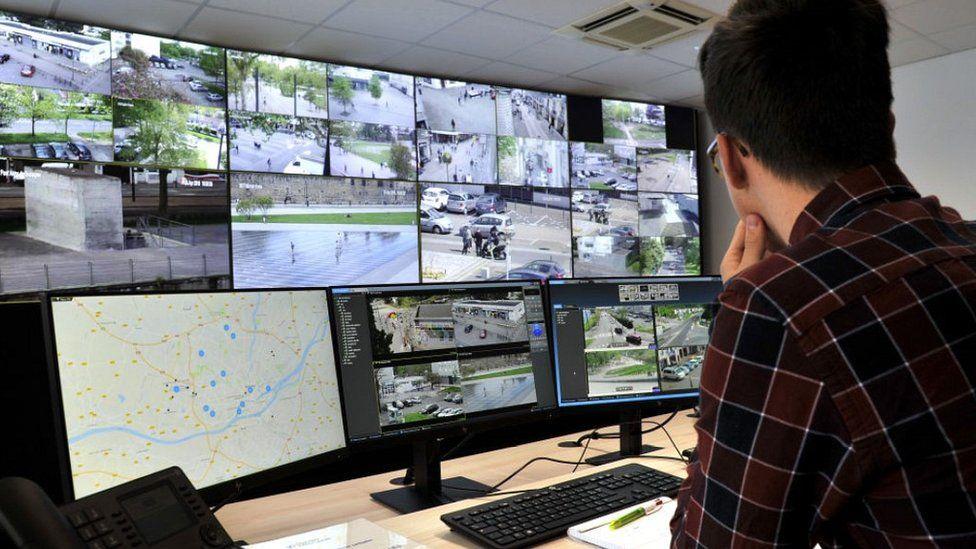 Urban surveillance unit in Nantes, France, 2018 file pic