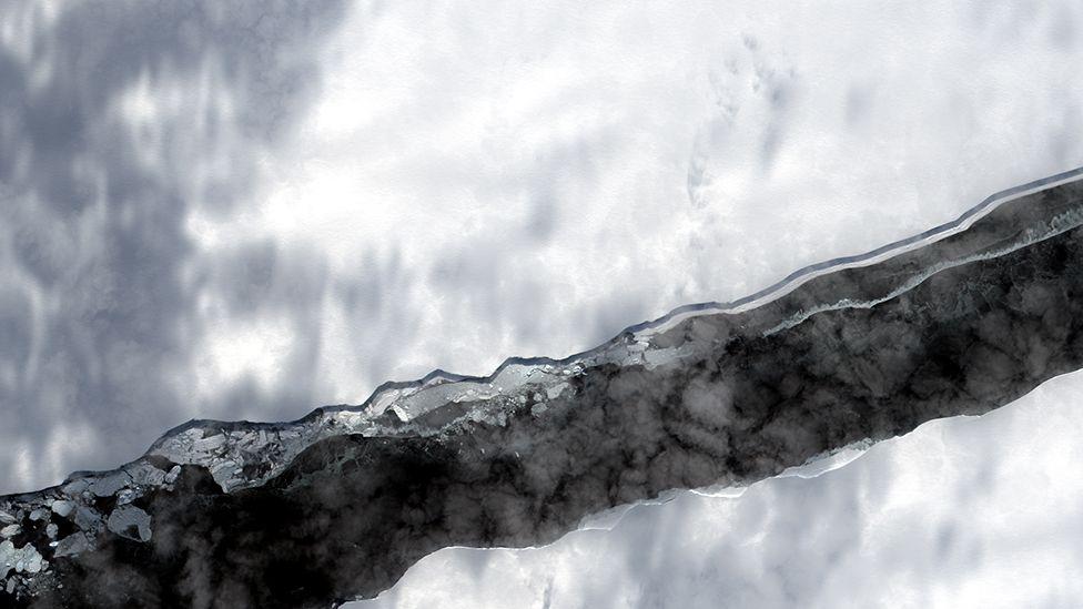 North Rift - Brunt Ice Shelf