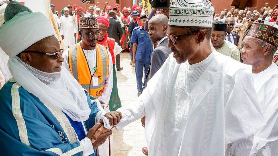 Buhari ya kai ziyara jihar Katsina don yin jaje - BBC News Hausa