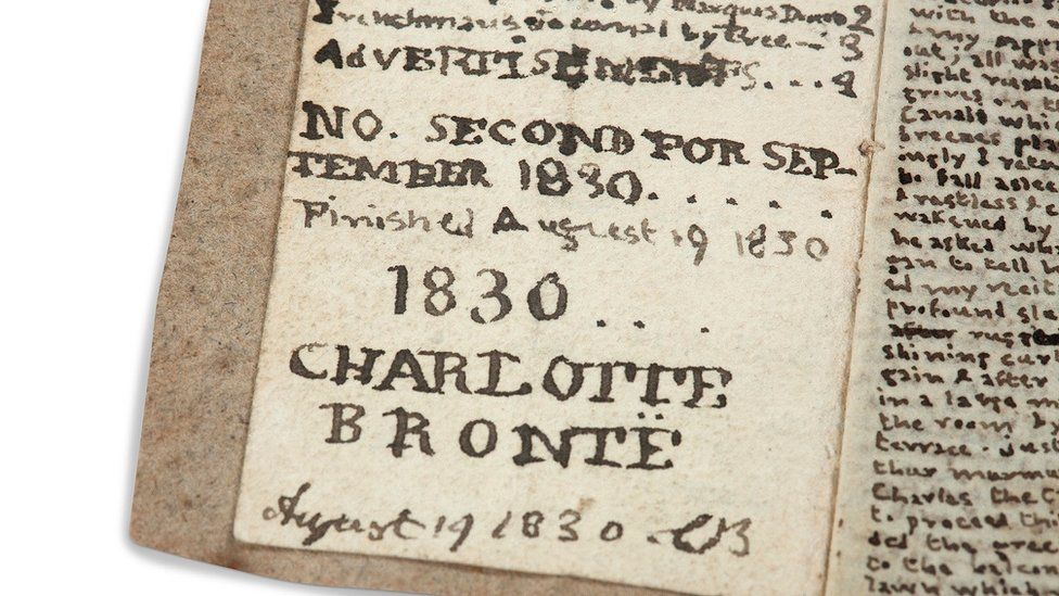 Charlotte Bronte little book