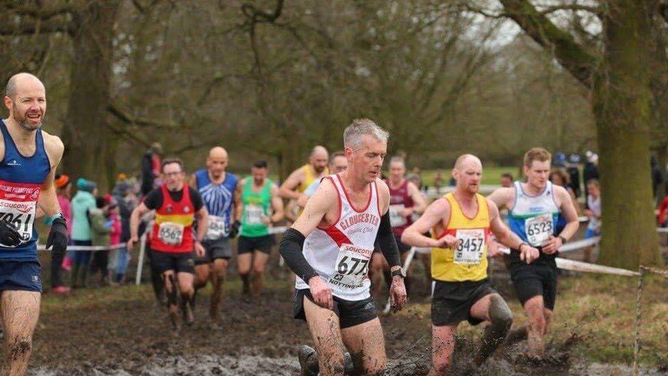 Dave Gresswell, runner