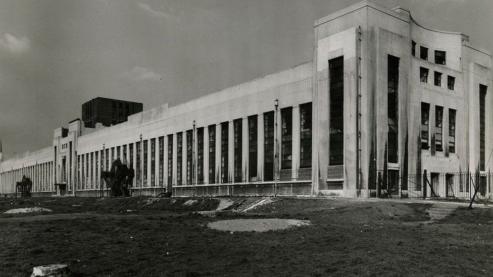 Littlewoods building in Liverpool
