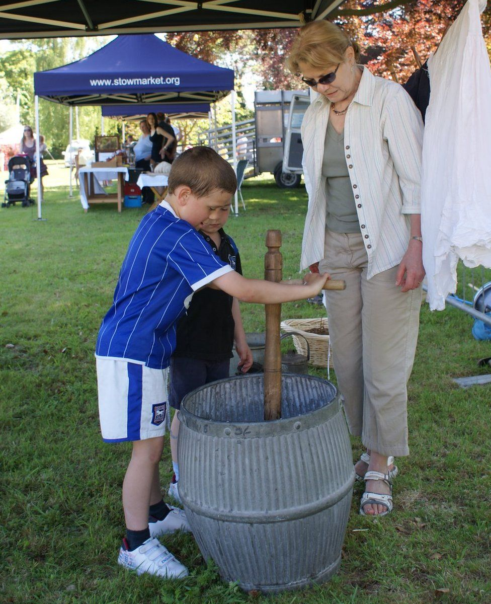 Victorian washday at Museum of East Anglian Life