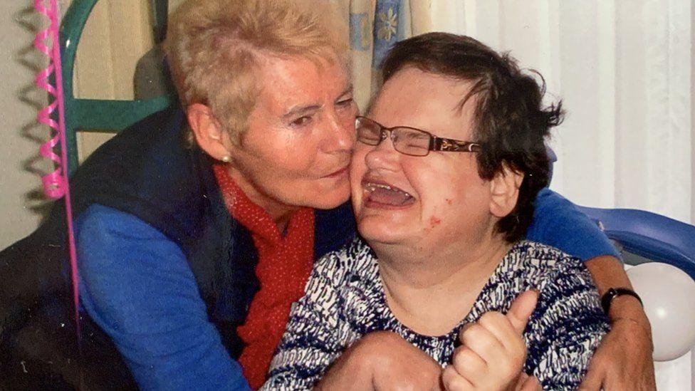 Diana Johnston and her daughter Rachel