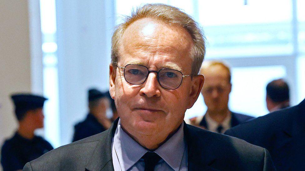 Renaud Donnedieu de Vabres, a former advisor to former defence minister Francois Léotard, in Paris, 15 June 2020