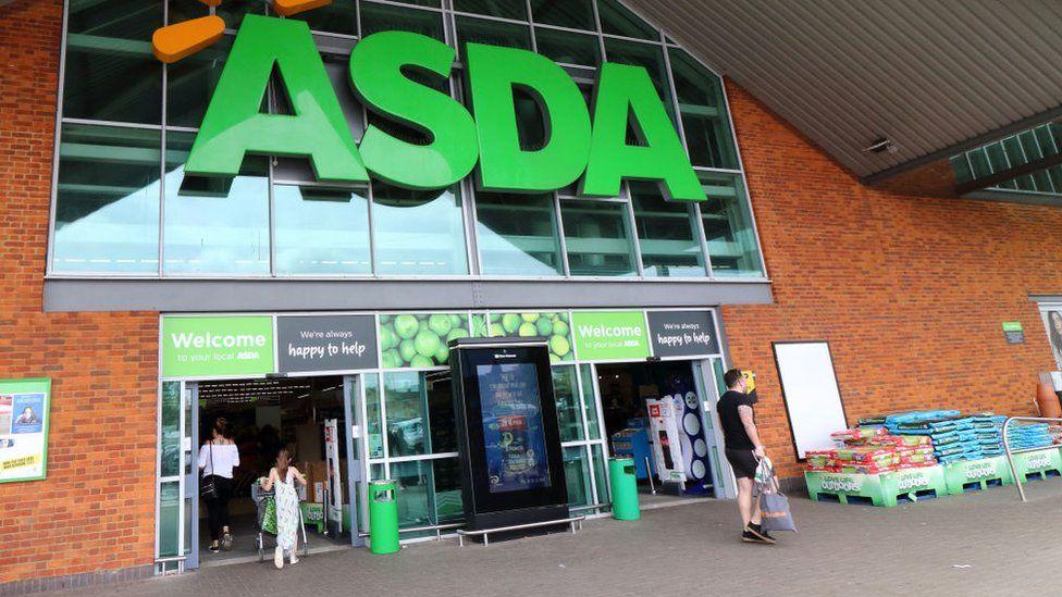Asda shopfront