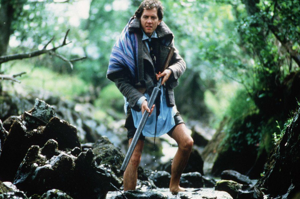Withnail goes fishing - with a shotgun