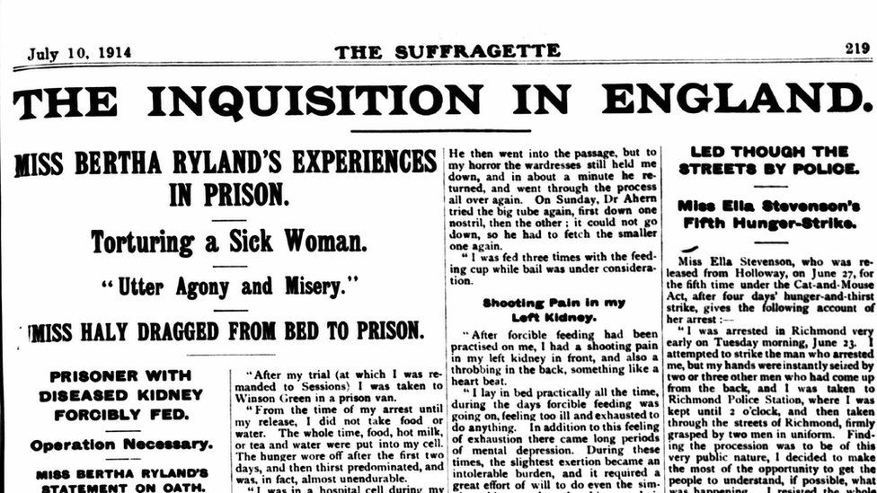 The Suffragette Newspaper from July 1914