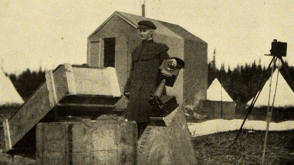 Annie Maunder on an eclipse expedition in Labrador, Newfoundland