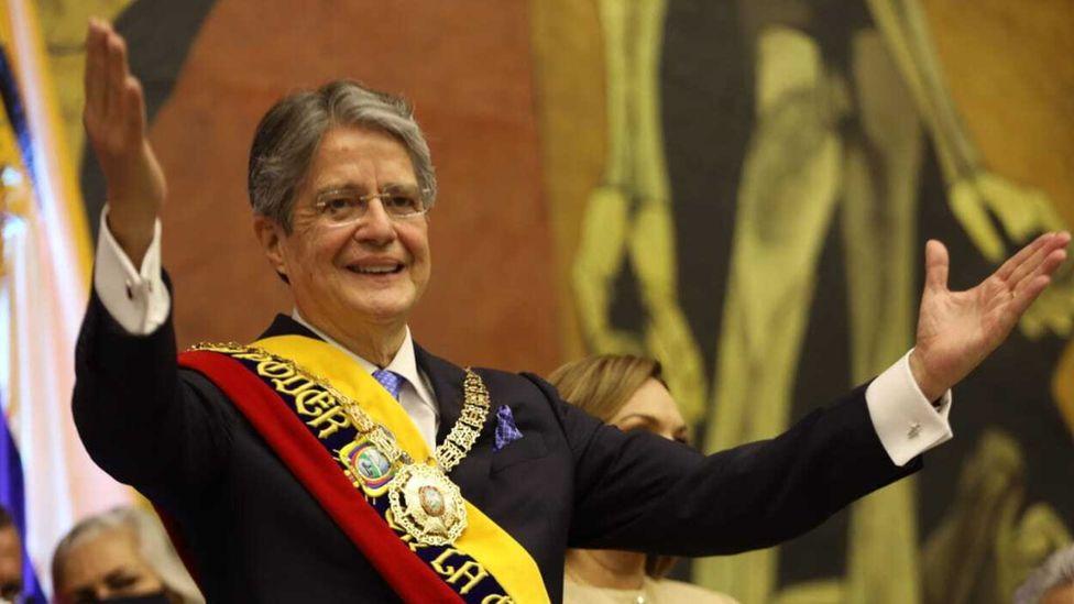 Ecuador's President Guillermo Lasso