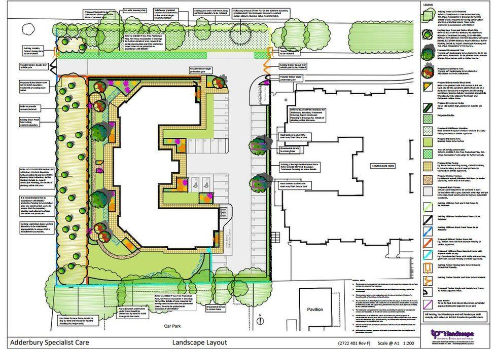 Nursing facility plans
