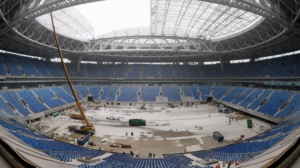 Krestovsky Stadium in Saint Petersburg