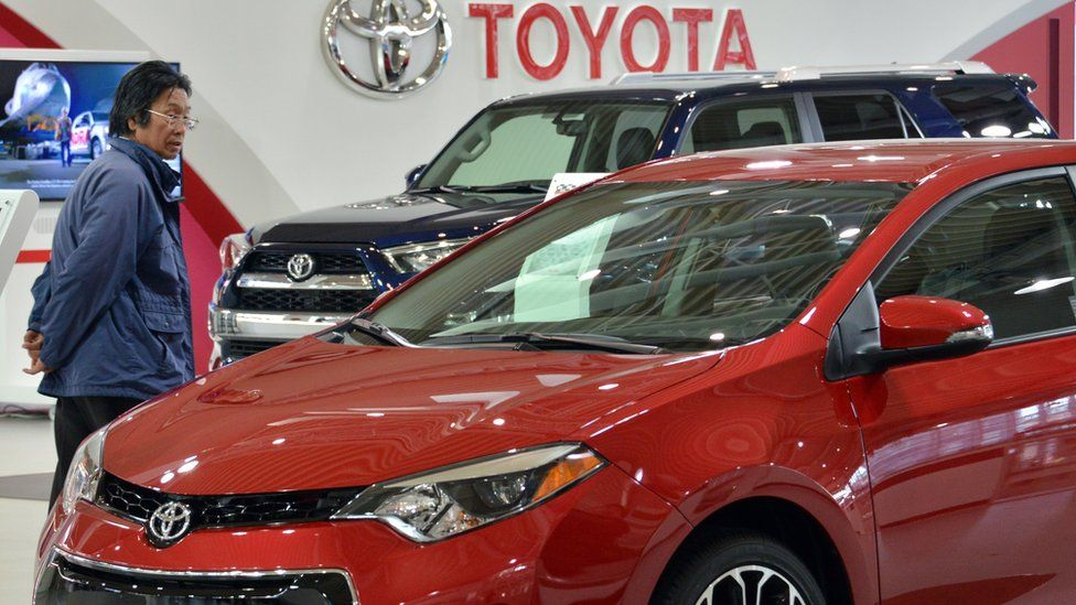 Toyota showroom in Tokyo