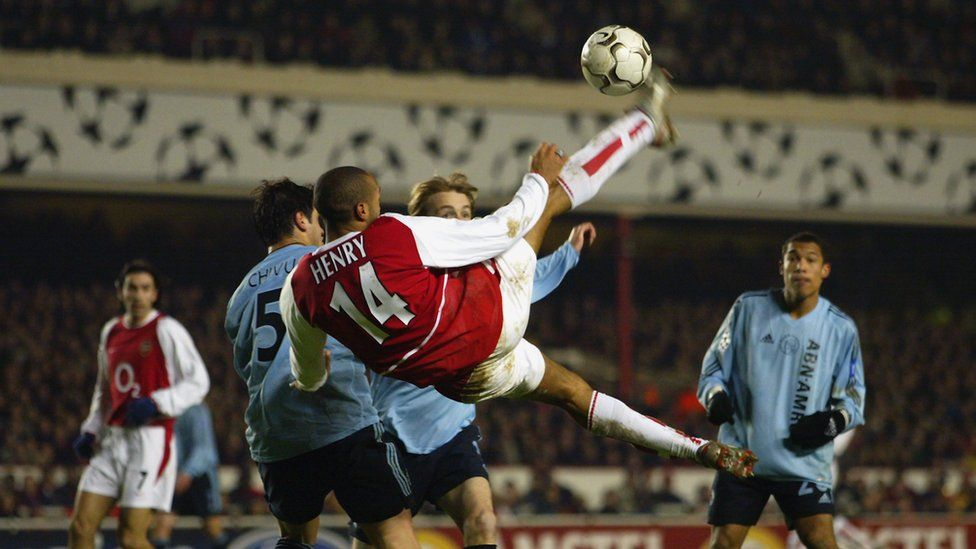 Thierry Henry as a player
