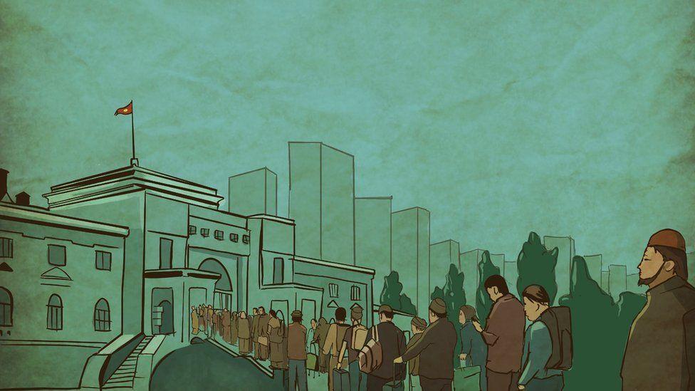 Рисунок: вокзал