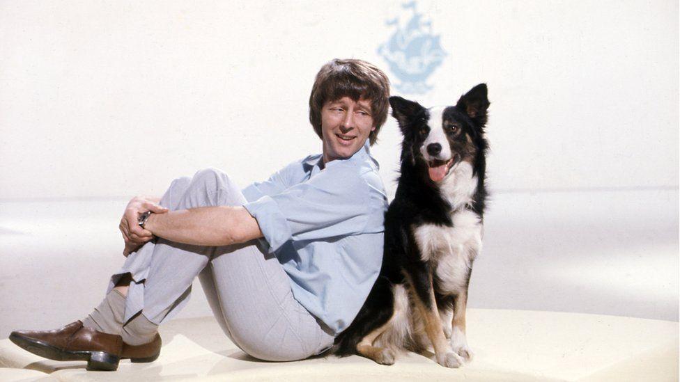 John Noakes and Shep the dog