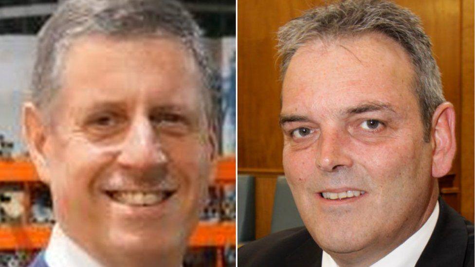 Mike Owen and Mark Carriline