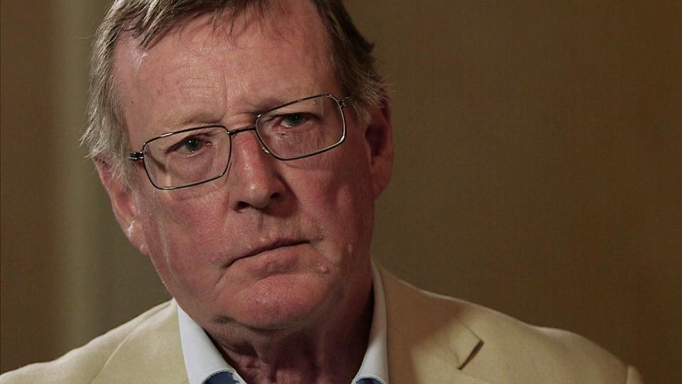 Former UUP leader Lord Trimble