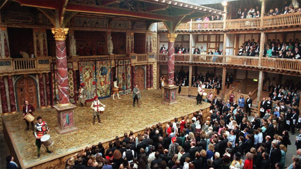 the opening of the Globe Theatre