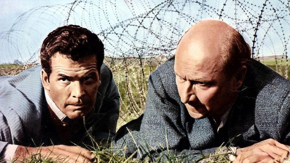 James Garner and Donald Pleasance