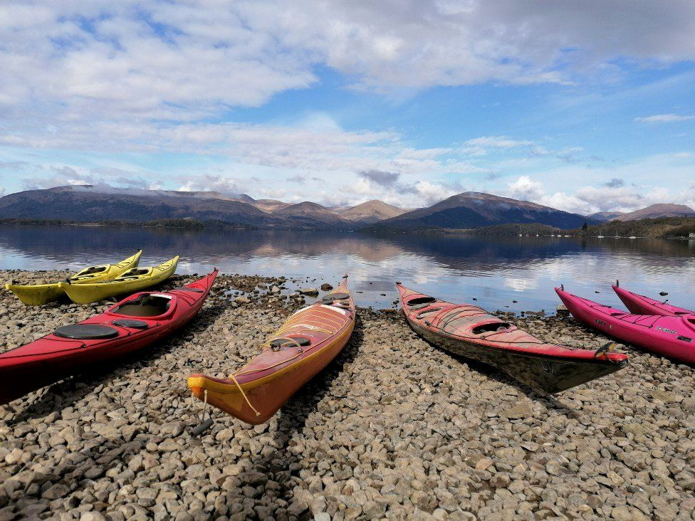Loch Lomond kayaks