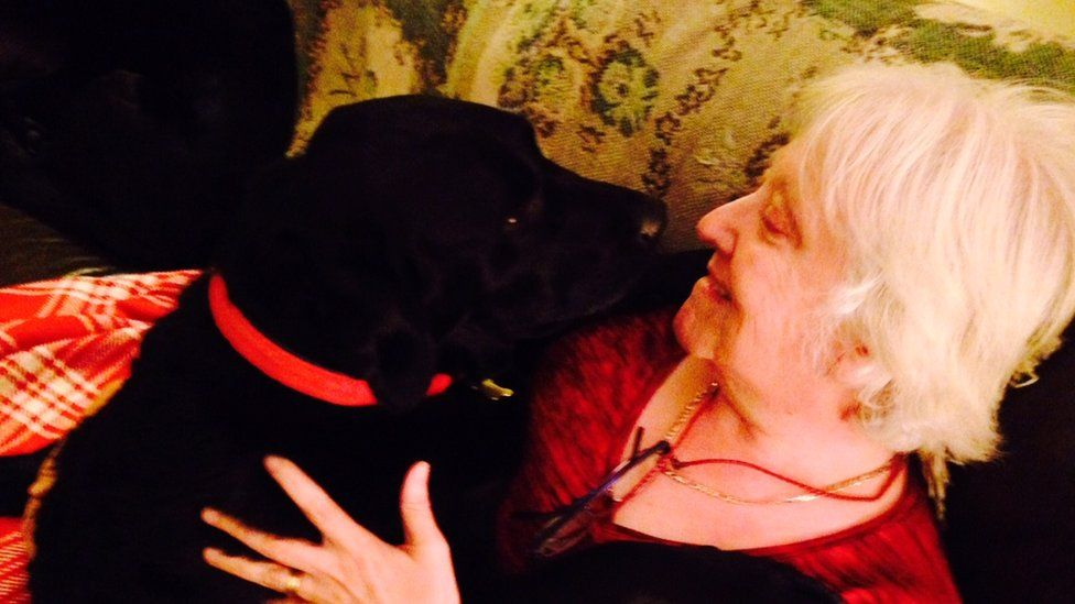 Karin Gibson and Paddy