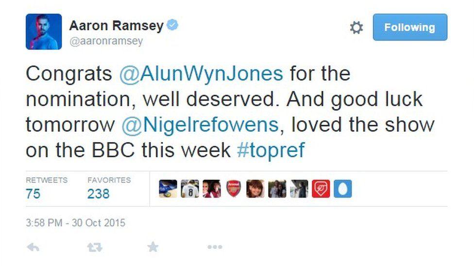 Tweet Ramsey