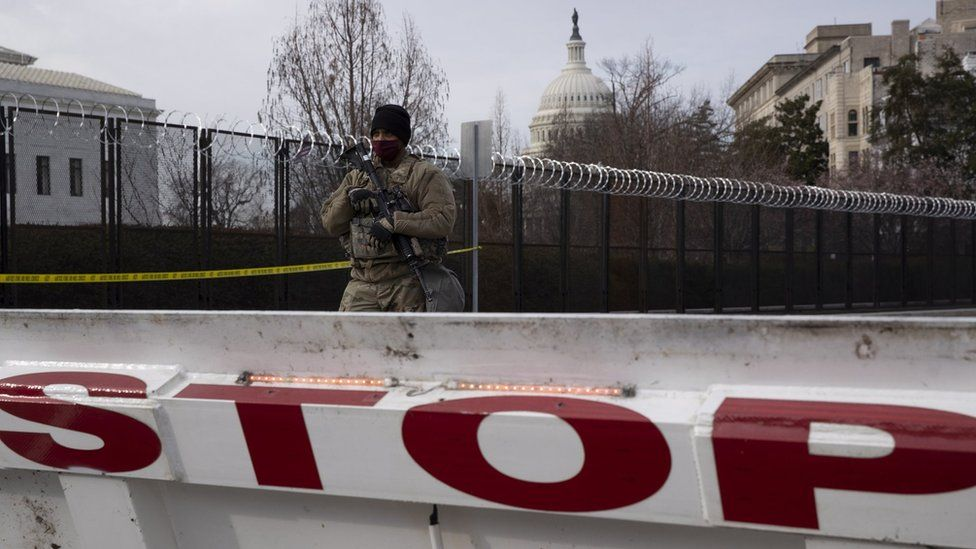 Lockdown in Washington DC
